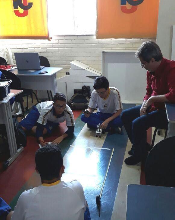 Aula de Física do Ensino Médio