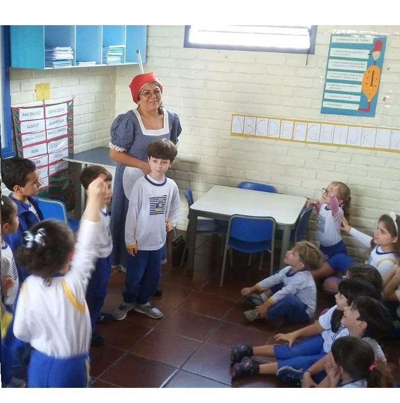 Cotação de histórias na Educação Infantil
