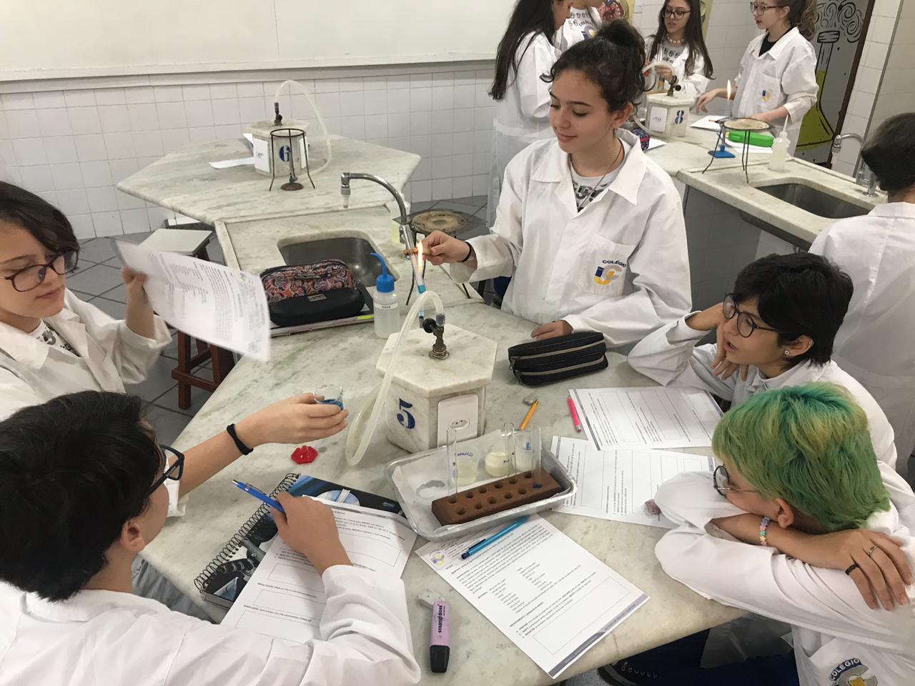 O laboratório de ciências e a aprendizagem prática