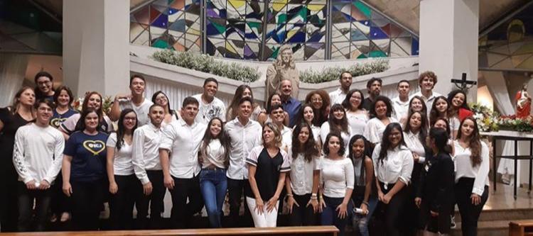 Missa em Ação de Graças do 3º ano do Ensino Médio