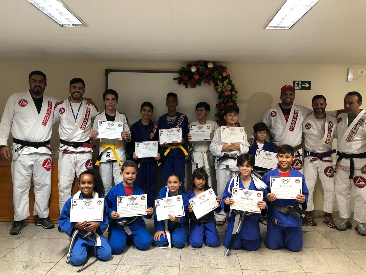 1ª cerimônia de graduação do Jiu Jitsu