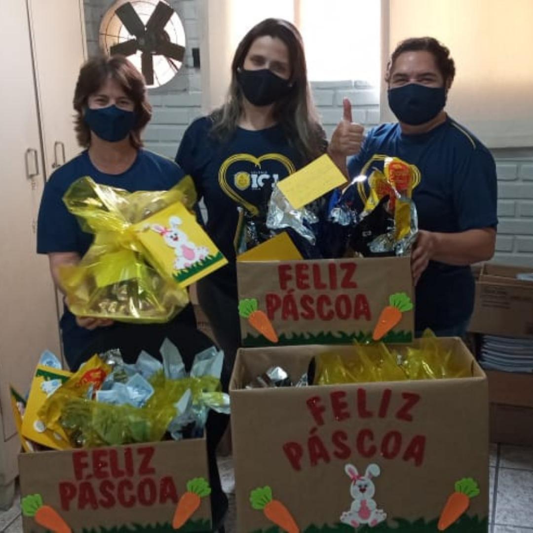 Doações levaram alegria ao Lar de Idosos Clotilde Martins