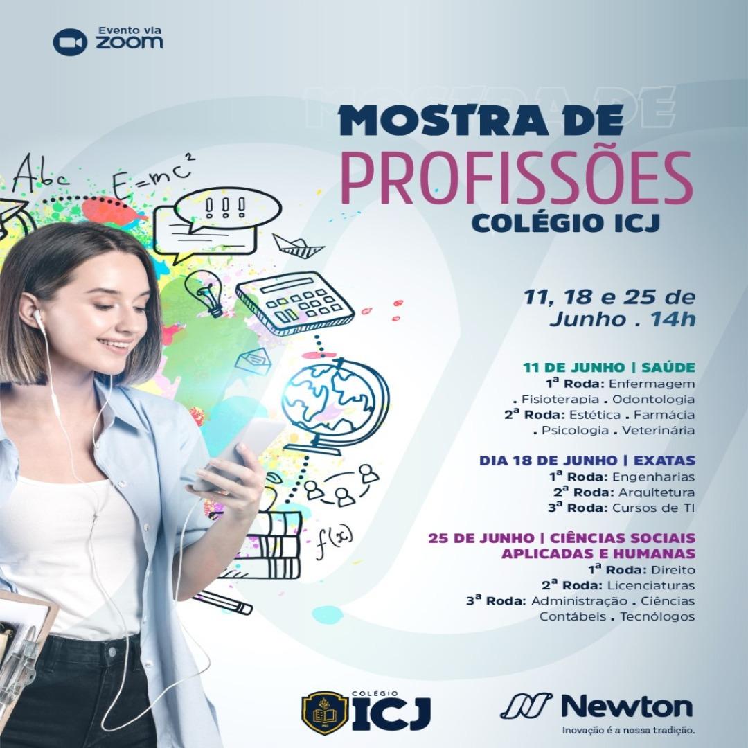 Mostra de Profissões em parceria com o Centro Universitário Newton Paiva