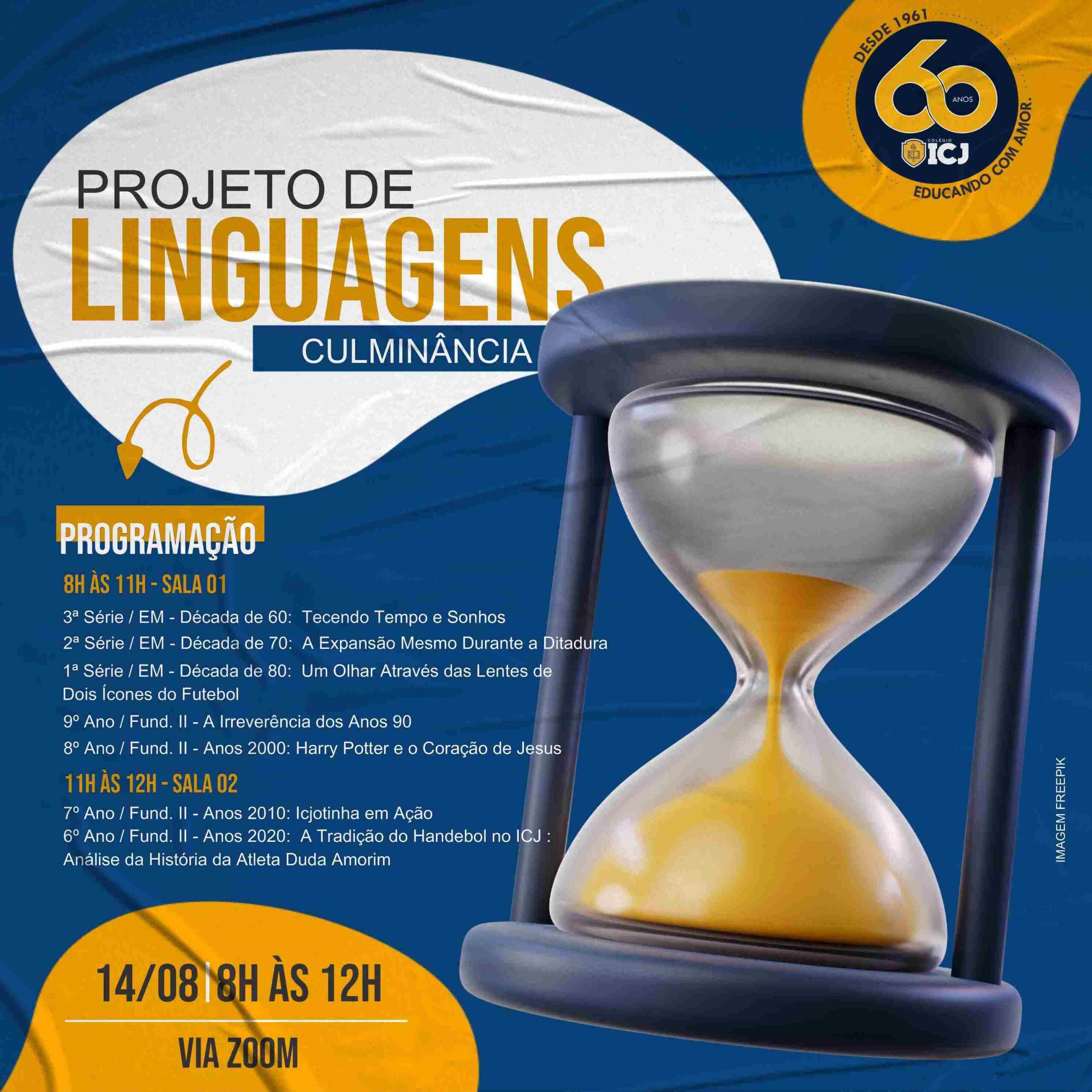 Projeto de Linguagens e a História do Colégio ICJ